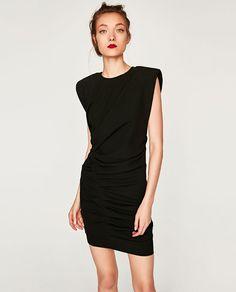 Image 3 of MINI DRAPED DRESS from Zara