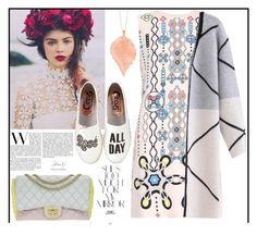 """""""Rose all day"""" by dorinela-hamamci ❤ liked on Polyvore featuring Peter Pilotto, Circus By Sam Edelman, Chupi, Chanel and Rika"""