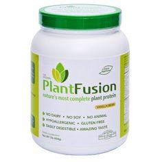 Best High Protein Snacks: Plant Fusion Vegan Protein Shake - High Protein Snacks Ideas - Shape Magazine