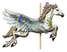 Pegasus carousel
