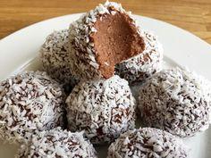 Candy Recipes, Raw Food Recipes, Baking Recipes, Cookie Recipes, Dessert Recipes, Cocktail Desserts, Swedish Recipes, No Bake Desserts, No Cook Meals