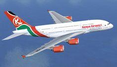 Kenya Airways Airbus A380-800