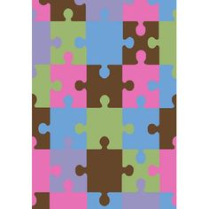 Concord Global Imports Alisa Jigsaw Puzzle Kids Rug