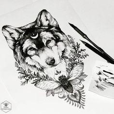✒ #wolf #sketch #artmagazine #artwork #artgalery #worldofartists #art_spotlight #sket... | Use Instagram online! Websta is the Best Instagram Web Viewer!