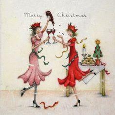 Cards » Merry Christmas » Merry Christmas - Berni Parker Designs