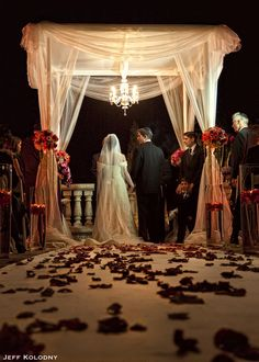 Get Married under the Stars at The Westin Diplomat Resort & Spa! #jewish #weddings
