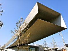 Hoki Museum, Japan, by T.Yamanashi + T.Nakamoto + T.Suzuki + M.Yano, Nikken Sekkei Ltd.