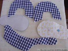Resultado de imagen para imagenes de moldes de almohadas para bebes