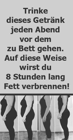 Trinke dieses Getränk jeden Abend vor dem zu Bett gehen und verliere 8 Stunden … Drink this drink every night before going to bed and lose fat for 8 hours Health Fitness Quotes, Health And Fitness Tips, Health Tips, Fitness Motivation, Women's Health, Dental Health, Health Recipes, Health Care, Heart Health