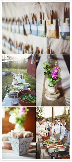 Small town backwoods wedding | http://www.100layercake.com/blog/2012/01/24/small-town-backwoods-wedding-alain-anna/