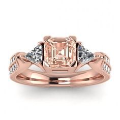 Piece Info: - 14K Rose Gold - Comfort Fit - Hypoallergenic, Cobalt-Free - Sleek Design - Durable - Comes in a Gift box #14k #Rose #Gold #Kalina #Vintage #Pave #Asscher #Cut #Morganite #And #Diamond #Trillion #Engagement #Ring #14k #morganite #ring #rose #gold #engagement #wedding #ring #engagement #ring #rose #gold #morganite #morganite #ring #morganite #engagement #Milgrain #Band #Unique #Art #Deco #Band #Tapered #Band #Double #Pave Trillion Engagement Ring, Rose Gold Engagement Ring, Morganite Engagement, Wedding Ring, Meteorite Ring, Asscher Cut, Morganite Ring, 18k Rose Gold, Diamond Shapes
