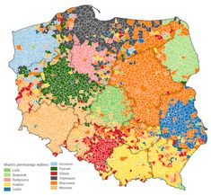 Post with 8713 views. First choice cities in Poland,ie first cities taken into consideration when planning the move Poland Map, First Choice, Historical Maps, Cartography, Data Visualization, Old World, Cyberpunk, Consideration, Infographic
