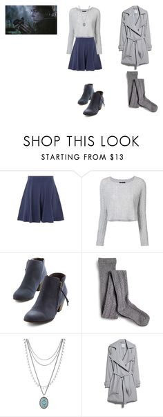 """Allison Argent Outfit"" by zoegeorgiou2001 on Polyvore featuring ThePerfext, Chelsea Crew, Sperry, Lucky Brand and MANGO"