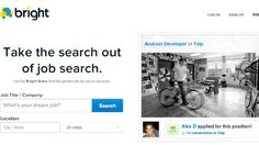 Bright - Take the search out of job search. (Scientifically Matches You to Ideal Jobs for You)