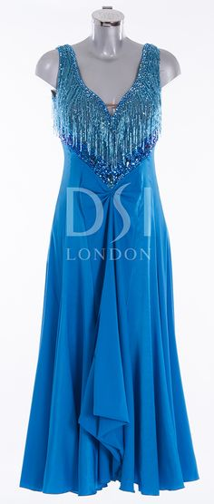 As worn by Sunetra Sarker on Strictly Come Dancing 2014. Designed by Vicky Gill and produced by DSI London