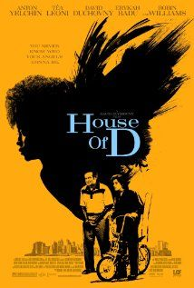 House of D -Robin Williams, Tea Leone, David Duchovny- suchhhh a touching movie.  awesome