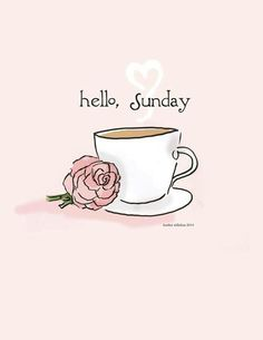 Have a good Sunday!