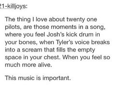 bands, twenty one pilots, tyler joseph, text posts, josh dun