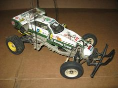 The Frog Tamiya RC Car 1/10th Scale Off Road Racer + Futaba Remote