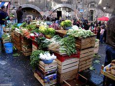 uno dei posti più suggestivi ...il mercato...