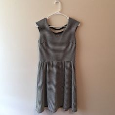 Striped Dress Super soft and comfy dress from Target. Great material and cut that makes the dress super flattering. Xhilaration Dresses Mini
