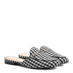 Mule Shoestock Vichy Feminina - Preto