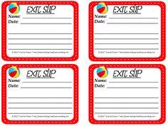 Emergency Exits! - The Organized Classroom Blog  http://www.theorganizedclassroomblog.com/index.php/blog/emergency-exits