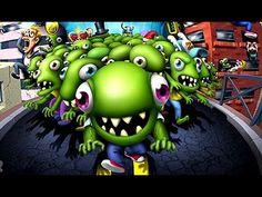 ZOMBIE TSUNAMI прохождение игры для детей про зомби  #2 / ДЕТСКИЙ КАНАЛ