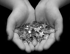You hold the stars in your hand! Shine brightly!  And if you look up the etymology of Roberta it means shining fame!  : )
