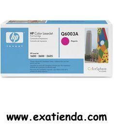 Ya disponible T?ner HP q6003a magenta    (por sólo 95.99 € IVA incluído):   -Compatible con: HP Laserjet -1600/2600CM1015 /MFP -Color: Magenta   Garantía de fabricante  http://www.exabyteinformatica.com/tienda/2099-toner-hp-q6003a-magenta #hp #exabyteinformatica