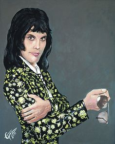 Freddie Mercury sold by Tom Carlton Art. Shop more products from Tom Carlton Art on Storenvy, the home of independent small businesses all over the world. Funny Caricatures, Queen Art, Thing 1, Somebody To Love, Queen Freddie Mercury, Rock Legends, Concert Posters, Art Music, Pop Culture