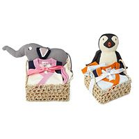 """BABY SHOWER BASKET - """"TAKE ME HOME"""" OUTFIT  http://www.uncommongoods.com"""