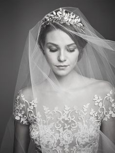 A veil is the finishing touch to any bridal look, and it's the perfect opportunity to make a style statement all your own.
