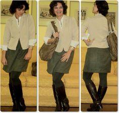 blog vitrine @ugust@ LOOKS   por leila diniz: Look c/vestido tqc de lese usado como saia + msg de DEUS: vencer na oração.