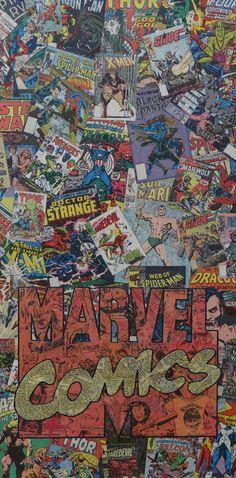Marvel Comic Logo, I so want this...