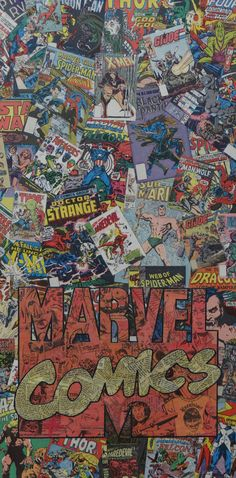 Marvel Comic Logo, I so want this...