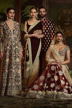 Sabyasachi's Firdaus Collection 2016 (Desi Bridal Shaadi Indian Pakistani Wedding Mehndi Walima Lehenga / Pakistani Couture, Indian Couture, Pakistani Outfits, Indian Outfits, Indian Attire, Indian Wear, Indian Style, Ethnic Fashion, Asian Fashion