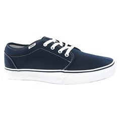 92b07b7b0045d0 VANS MENS 106 VULCANIZED NAVY BLUE SHOES 099ZNVY 9    Click image for more  details