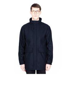 Dock Navy Coat by OnTour
