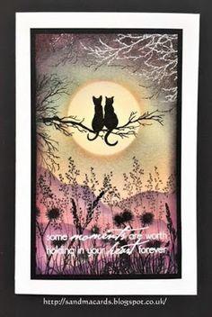 Sandma's Handmade Cards: Inkylicious Cats