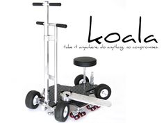 Koala Camera Dolly by Black Bear Studio Systems — Kickstarter.  Koala is a hybrid camera dolly with all the features & functions of full-size ground, track & rail dollies in a single, portable system