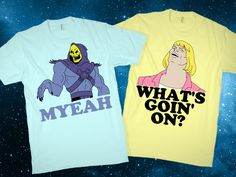 Heman What's Goin On? Couples Shirts
