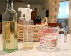 DIY - Make your own cooking spray for pennies!  I did this with olive oil and it is fantastic!