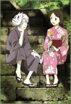 Hotarubi no mori e the movie. Hotaru x gin.  Beautiful story!!!