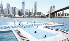 With Google's Help, NYC's Floating River Pool Will Tell Us How Healthy the Hudson Is | Co.Exist