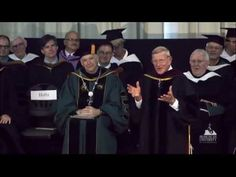Lou Holtz: Undergraduate Commencement Address 2015 - YouTube- great speech about faith, Jesus and life'