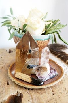 Citrine will attract abundance and provide a calm focus - so place one near your desk to clear negative energy.