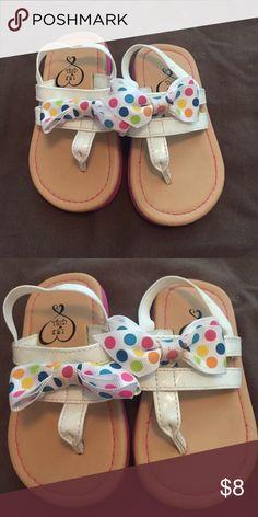 Toddler girl sandals Worn once 1 4 3 Girl Shoes Sandals & Flip Flops