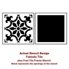 Stenciled-backsplash-tile-stencils-kitchen-DIY-painted-backsplash