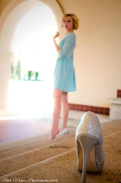 Cinderella photo shoot.